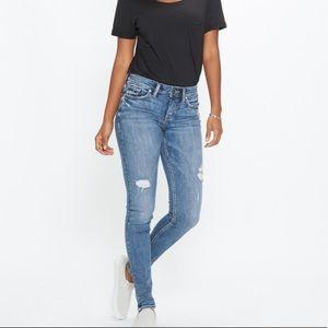 Silver Jeans Suki Super Skinny Jeans